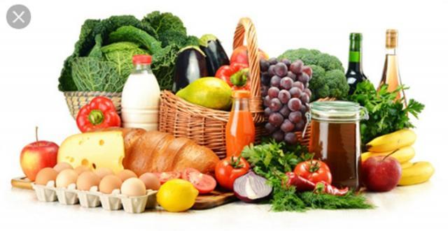 Alimentos mediterráneos y saludables