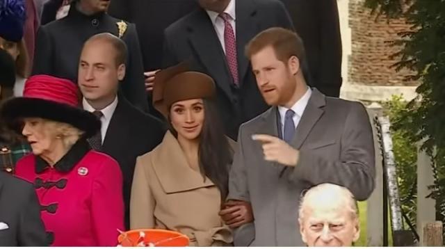 Harry, Meghan not attending the Queen's Christmas dinner. [Image source/Nine News Australia YouTube video]