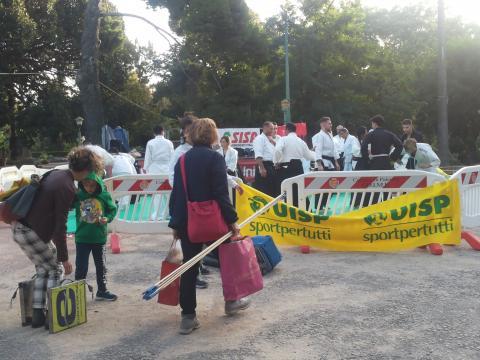 Ultimi preparativi per la XXV Maratona di Palermo 2