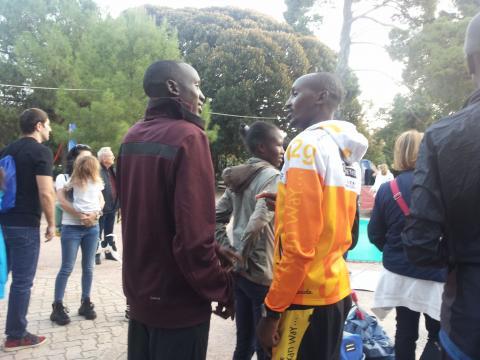 Ultimi preparativi per la XXV Maratona di Palermo 7