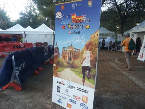 Ultimi preparativi per la XXV Maratona di Palermo