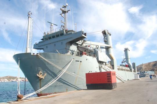 El Camino Español, veterano buque de transporte que ahora se despide