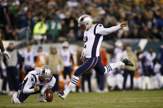 Nick Folk estuvo acertado en sus intentos de goles de campo. www.washingtontimes.com
