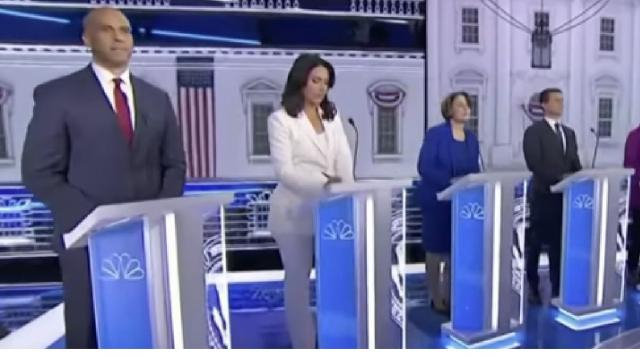 The fifth 2019 Democratic Debate: key moments. [Image source/The New York Times YouTube video]