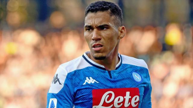 Allan Marquez, centrocampista del Napoli.