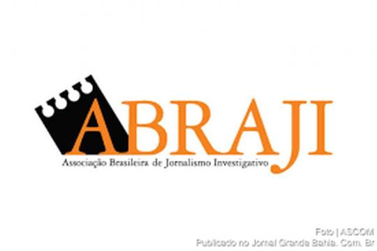 Logo de l'Abraji, association brésilienne de journalisme d'investigation