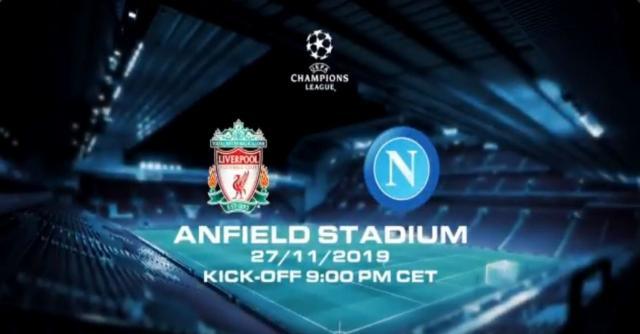 DIRETTA - Champions League, Liverpool-Napoli
