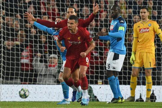 El campeón de Europa,Liverpool, dejó en vilo su clasificación a 8vos. www.standard.co.uk