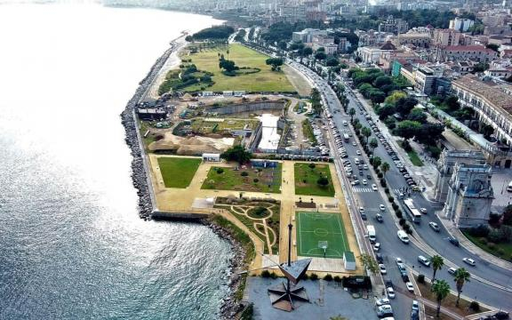 Vista aerea del Parco della Salute