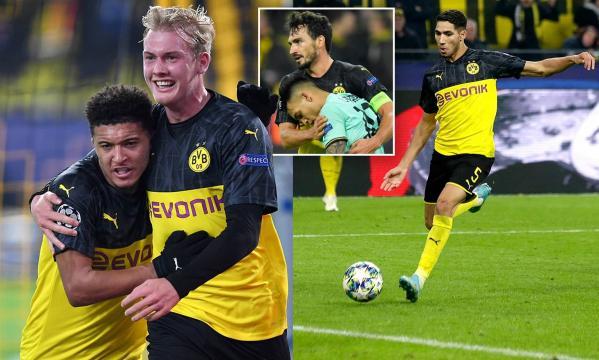 El Dortmund consumó una remontada épica. www.dailymail.co.uk