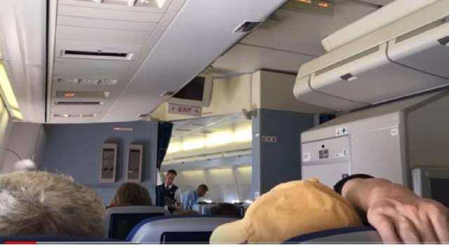 KLM Economy Comfort on Boeing 747, KL685 Amsterdam Mexico City. [Image source/Mangiare YouTube video]