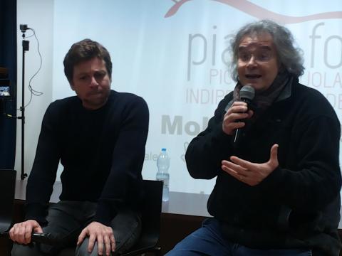 Claudio Gioè parla di cinema e teatro all'Università 1