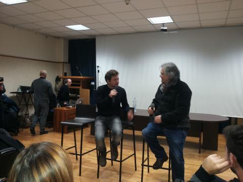 Claudio Gioè parla di cinema e teatro all'Università 2