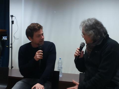 Claudio Gioè parla di cinema e teatro all'Università 3