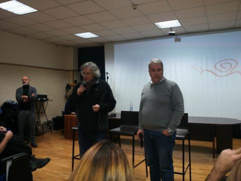 Claudio Gioè parla di cinema e teatro all'Università 4
