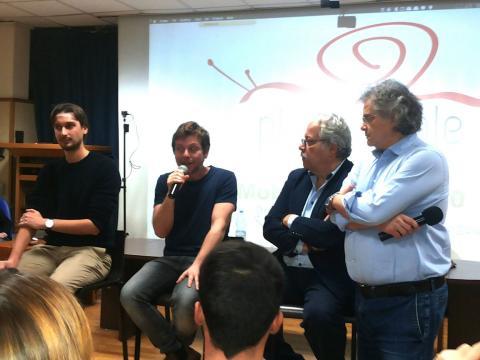 Claudio Gioè parla di cinema e teatro all'Università