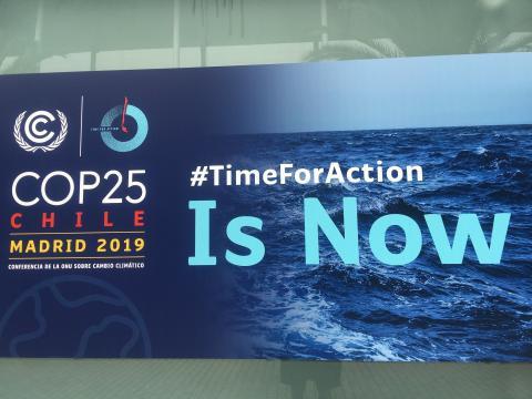 COP25 Cumbre Mundial del Clima