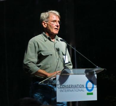 Harrison Ford ante la Conservation International