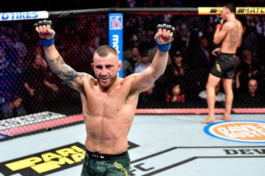 Volkanovski sigue invicto en la UFC. www.thesun.co.uk