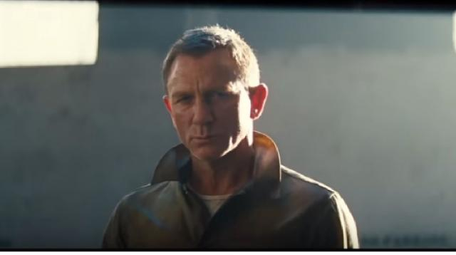 James Bond 007: No Time To Die teaser trailer (2020) Daniel Craig, Rami Malek Movie. [Image source/Rapid Trailer YouTube video]