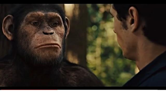 Rise of the Planet of the Apes (2011) - Caesar is Home Ending Movie Clip. [Image source/Trending Videos YouTube video]