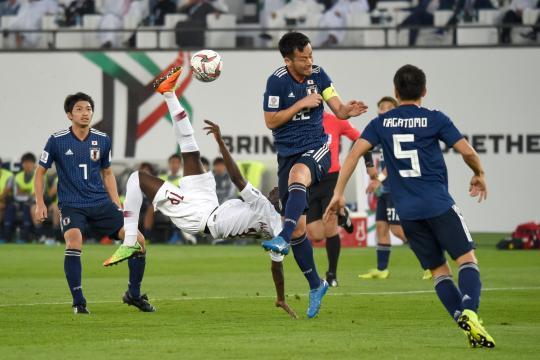 El golazo de Ali de chilena, encaminó la final vs Japón. www.marca.com