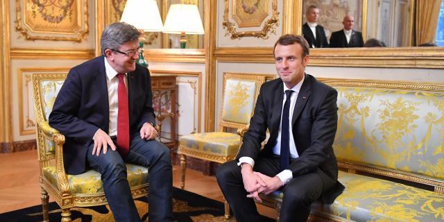 Mélenchon vante son dialogue avec Macron pour mieux se payer Hollande - lejdd.fr