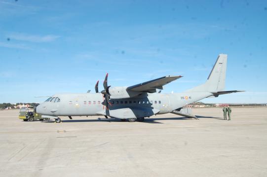 El C-295 es muy socorrido en tareas de evacuación médica por su gran versatilidad