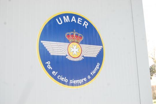 El emblema de la UMAER con el lema de la únidad