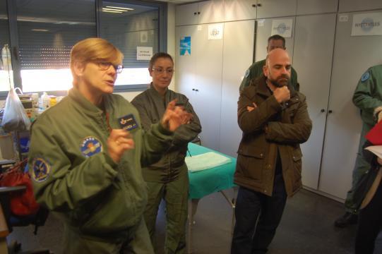 Especialistas de la UMAER relatan sus experiencias a la prensa