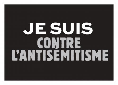 Marche contre l'antisémitisme en France