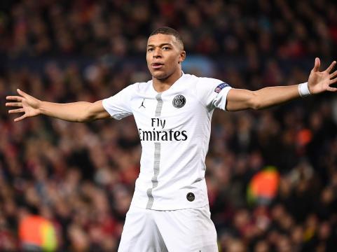Mbappé tuvo un gran partido desequilibrando con su gran velocidad. www.independent.co.uk