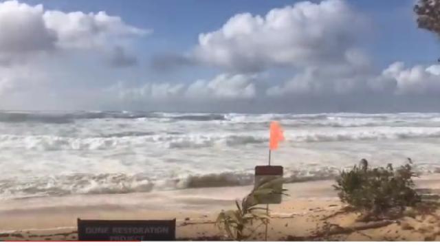 North Shore Hawaii Feb 2019 Storm Waves. [Image source/Daniel Molina YouTube video]