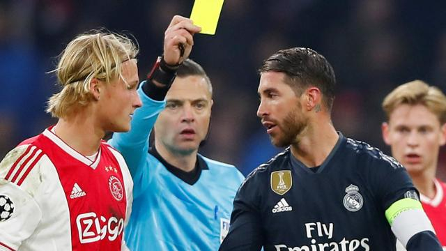 Sergio Ramos: Real Madrid defender denies intentional booking ... - globallatestnews.com