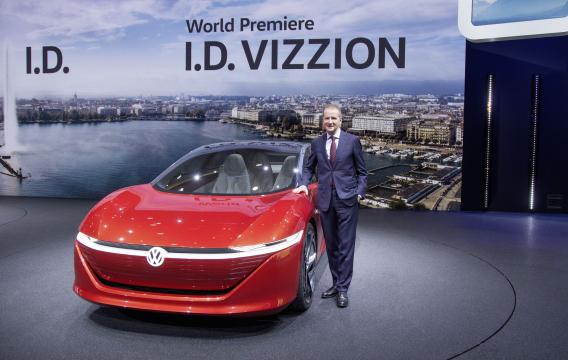 Volkswagen I.D. VIZZION, protagonista della campagna pubblicitaria Volkswagen