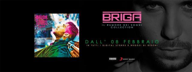 Il Rumore dei Sogni, l'ultimo album con doppio CD di Briga è disponibile in tutti i digital stores e nei negozi di dischi