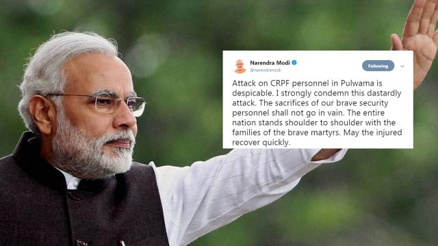 Twitter Reaction on Pulwama Militant Attack: 'Stand United ... - thequint.com