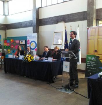 Secretário de Estado no lançamento da Campanha 70JÁ para Esposende (Divulgação)