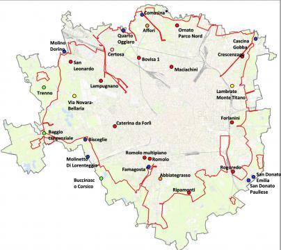 Area B Milano perimetro completo