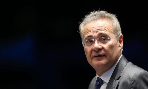 Irritado, Renan Calheiros retira candidatura à presidência do Senado Federal I Galeria BN