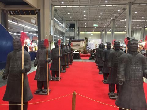 L'esercito di terracotta cinese.