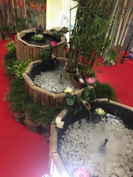 Riproduzione di fontana meditativa induista.