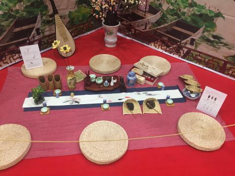 Strumenti per la Cerimonia del tè giapponese.