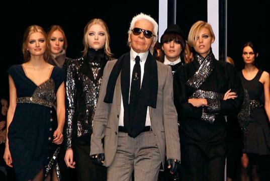 Karl Lagerfeld era conocido como el