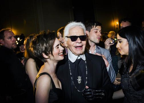 Karl Lagerfeld, 'fenómeno' y genio de la moda de lujo