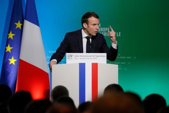 Emmanuel Macron appelle à