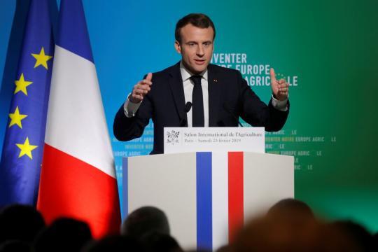 Salon de l'agriculture 2019 : Macron appelle à