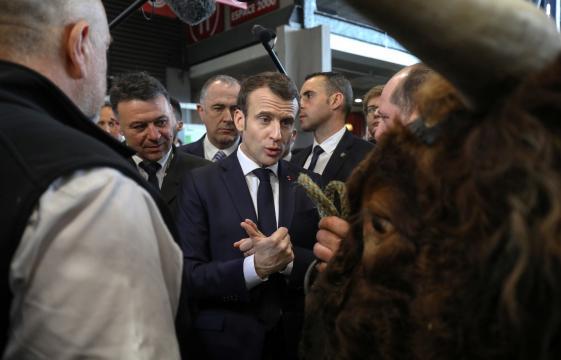 VIDÉOS - Salon de l'agriculture : le marathon d'Emmanuel Macron - rtl.fr