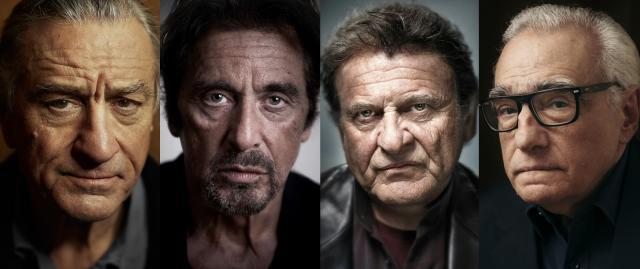 Actores que participan en 'The Irishman' de Martin Scorsese
