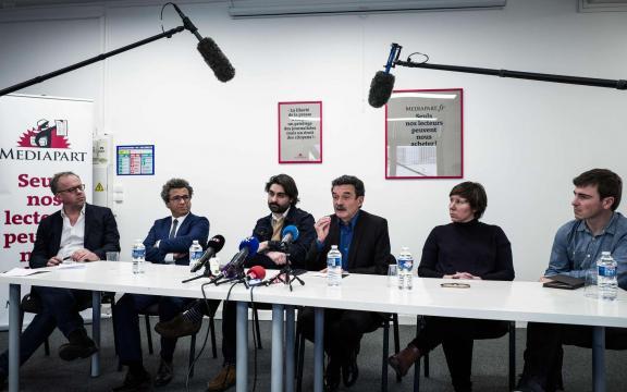 La liberté d'informer entravée chez Mediapart, le coup d'oeil de la presse - charentelibre.fr